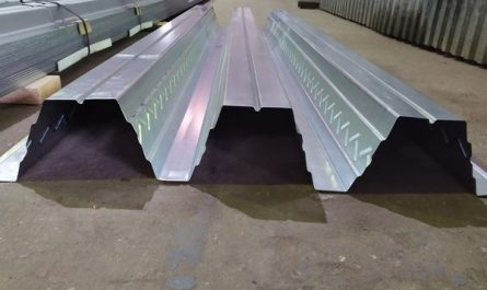 ГП «Стальные конструкции» начала производство профнастила СКН153Z-900 с боковой выштамповкой на стенке